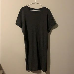 Zara Sweater T-Shirt Dress